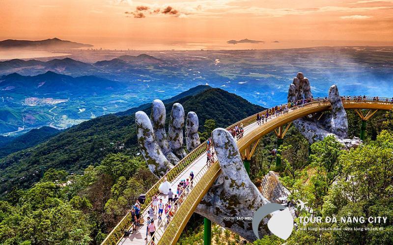 Cầu vàng Bà Nà Hills Đà Nẵng