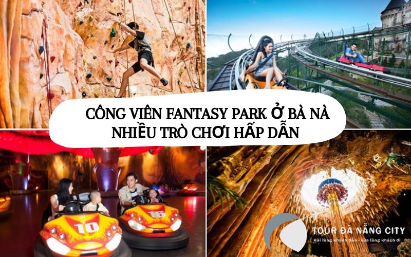 Công viên Fantasy Park ở Bà Nà Hills